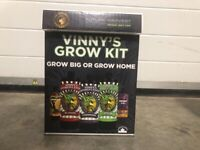 Ex Stock. Vinny's grow kit starter box