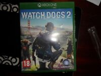Watchdogs 2 Xbox one Game, Like new