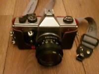 Praktia film camera