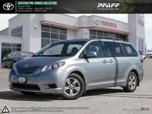2016 Toyota Sienna LE 8 Pass V6 6A LOADED BLUETOOTH AND MORE