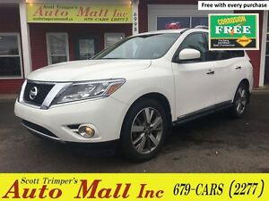 2014 Nissan Pathfinder Platinum/Leather/Nav/backup Cam