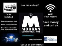 Telephone Enginners, 25 years experience. CCTV installed, Broadband issues.