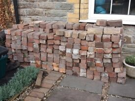 Approx 300+ clean Victorian bricks for sale