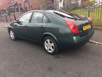 nissan primera 2.2 diesel 6 speed gearbox, TAX & MOT 1 YEAR, START & DRIVE PERFECT & VERY NICE CAR
