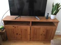 IKEA pine tv unit