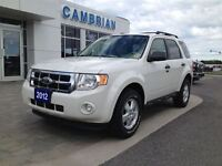 2012 Ford Escape XLT 4x4 with Bluetooth