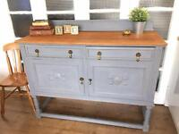SOLID OAK SIDEBOARD/CHEST FREE DELIVERY LDN🇬🇧