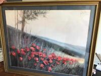 Large poppy picture stunning