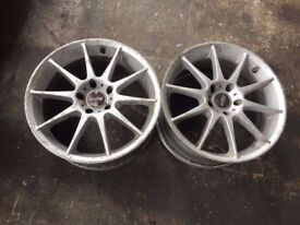 VW SHARAN ALHUMBRA Caddy Alloy WHEEL RIM 17x8JJ , AS SEEN IN PICTURES!!! 5 STUDS