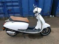 Lexmoto 125 vienna 600 miles from new