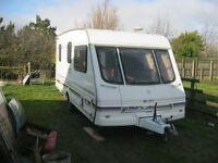 SWIFT CHALLENGER 480RT 1998 CARAVAN. IMMACULATE INTERIOR. MANY EXTRAS.2 AWNINGS. VIEW/DELIVERY POSS