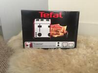 Tefal Raspberry red 4 slice toaster