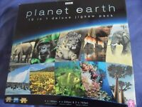 BBC Planet Earth 10 in1 Jigsaw Pack