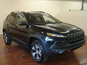 2016 Jeep Cherokee Trailhawk V6 CUIR TOIT-PANO HITCH NAV 204$/2S
