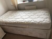Single Divan bed with Mattress only £5