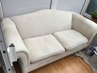 FREE DELIVERY Laura Ashley Gloucester Cream Two seater sofa