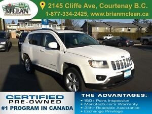 2014 Jeep Compass Noth 4x4 Low Kms/Leather Heated Seats/Sunroof