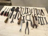 Job lot of various tools. All in used condition but still usable. As per photo.