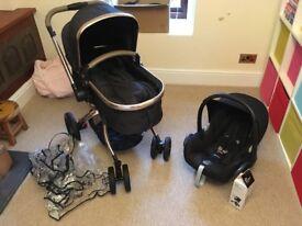 Mothercare Orb Pram and Car Seat