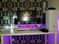 Custom Workstation PC - High Spec i5 6600 Gaming PC with Peripherals