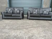 Grey NEXT 3&2 seater sofas, couches,(SOLD PENDING)