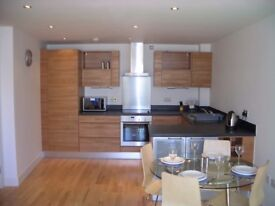 1 Bed Clarence Dock Flat, Furnished, Dock Facing, Large Terrace