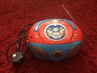 Thomas the Tank Engine CD Player and Radio
