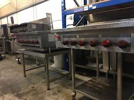 Wolf Chargrill 4 Burners 60cm with Stand, peri peri grill, very fast grill many in stock