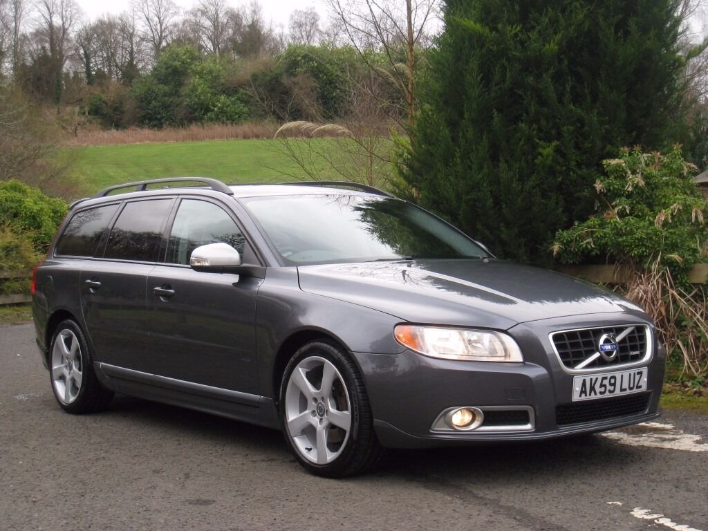 2009 59 volvo v70 2 5 d5 r design se premium 205bhp twin. Black Bedroom Furniture Sets. Home Design Ideas