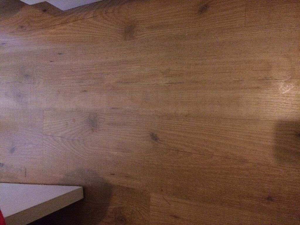 Two And A Bit Packs Of Ikea Tundra Oak Effect Laminate Flooring