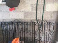 Rought Iron Gates x2