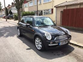 Black Mini Cooper Very Good State