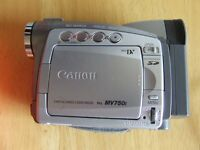 REDUCED TO DAFT PRICE! Fab CANON CAMCORDER with 12 Tapes - NOW ONLY £99 ONO!
