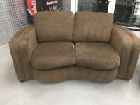 """Fabric two seater """"FREE LOCAL DELIVERY """""""