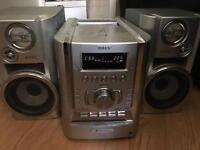 Sony CD MP3 tape player 5 disc changer