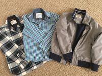NEXT - 2 boys next shirts & 1 jacket AGE 6