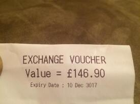 Cex voucher £146.90 for only £100 cash