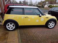 For Sale Mini Cooper 1.6 2002 plate