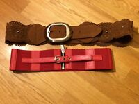 Pair of women's belts