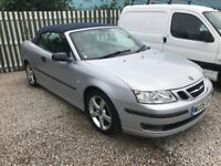 Saab 93 Vector 1.8 turbo convertible 12 Months MOT + 3 Months Warranty Reduced