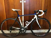 FULL CARBON FIBRE MEKK 2G POGGIO P2.5 ULTEGRA 54CM ROAD BIKE. Not specialised, bianchi, trek, giant