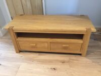 Oak TV / console table from Next. Excellent condition.