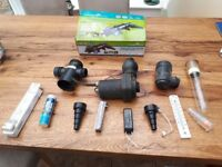 Pond pump , bulbs and others bits for CUV-118
