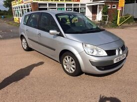 Renault Grand Scenic 1.6 VVT Dynamique 5dr, 6 MONTHS FREE WARRANTY, FULL SERVICE HISTORY, 6 SPEED