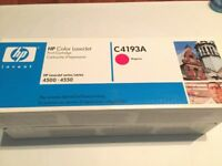 HP INK CARTRIDGE GENUINE NEW BOXED SEALED HP C4913A MAGENTA