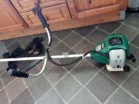Draper handlebar strimmer/ brush cutter and accessories