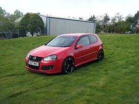 2007 57 VW GOLF GT TDI SPORT 170 VERY SMART RELIABLE CAR HPI CLEAR CHEAP NO OFFERS
