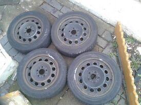 """Steel wheels 16"""""""