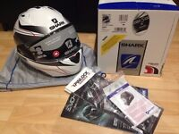 New Shark Evo One helmet - Medium - Flip front, internal sun visor, pinlock