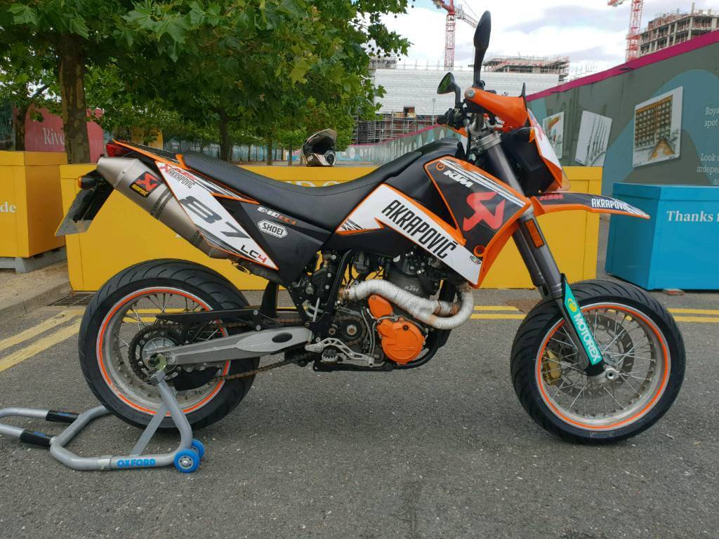 ktm 640 lc4 supermoto in westminster london gumtree. Black Bedroom Furniture Sets. Home Design Ideas